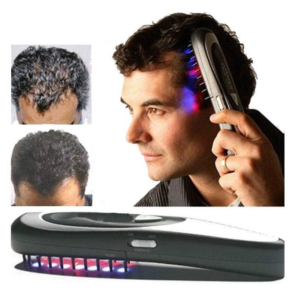 Set de perii electrice - tratament cu laser, oprește caderea părului cu accesorii (12 bucăți) [8]