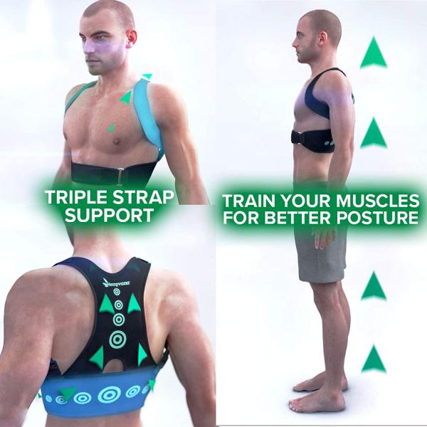 Corector postura spate - Hempvana Arrow Postura - corecteaza poziția spatelui 2