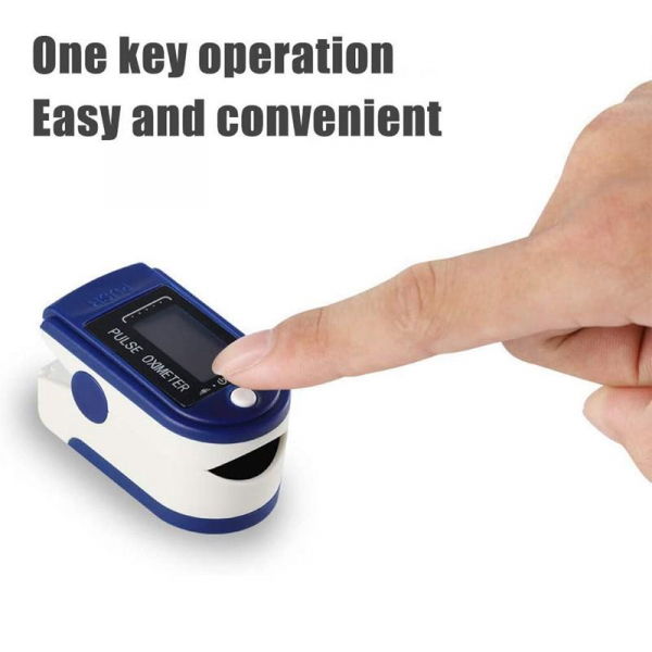 Dispozitiv de Masurat Saturatie Oxigen si Puls pentru Deget - Pulsoximetru / Oximetru 6