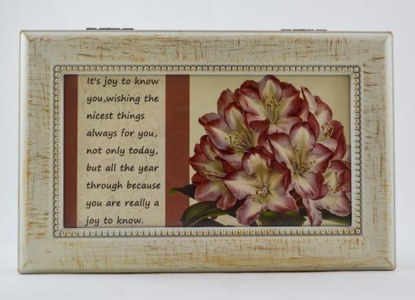 Cutie muzicala realizata din lemn pentru depozitarea bijuteriilor – Design vintage #2 1