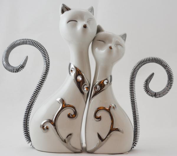 Set 2 statuete pisica [0]