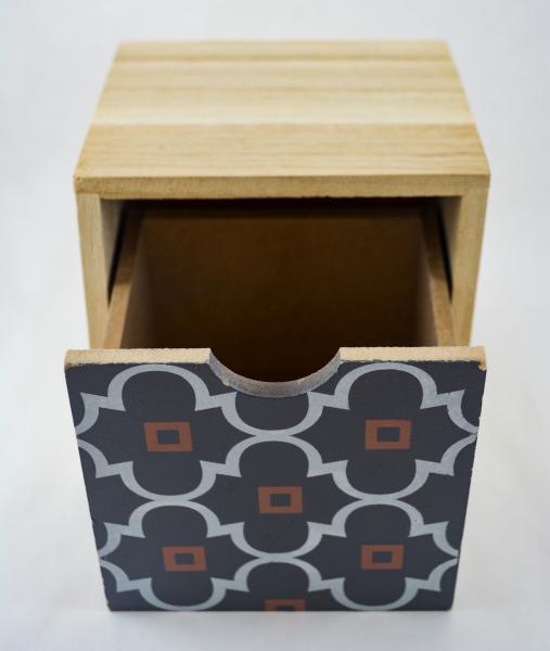 Cutie depozitare bijuterii cu un sertar 0