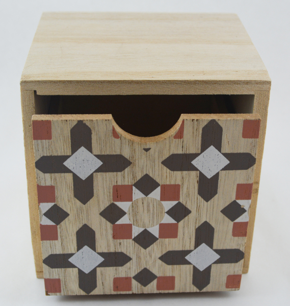 Cutie depozitare bijuterii cu un sertar #2 0
