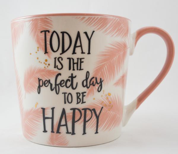 Cana ceramica roz- Perfect Day 0