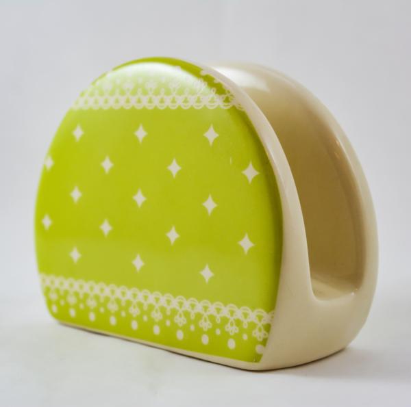 Suport pentru servetele realizat din ceramica 0