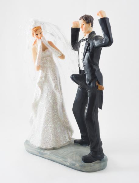 Figurina decorativa pentru tortul de nunta 0