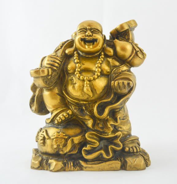 Ornament decorativ Feng Shui - Buddha vesel 0