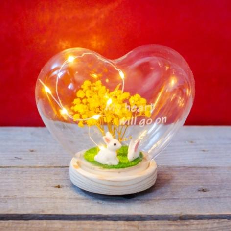 Decoratiune inima cu led 0