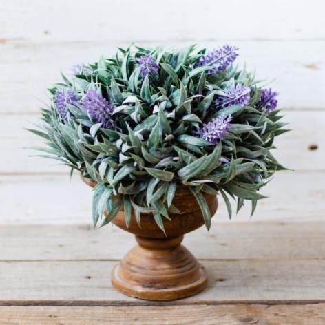 Aranajament floral ghiveci lavanda #2 0