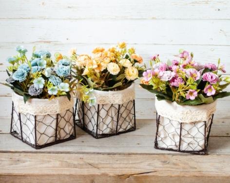 Aranjament floral in ghiveci 0