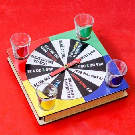 "Joc ruleta ""Cine bea?"" 0"