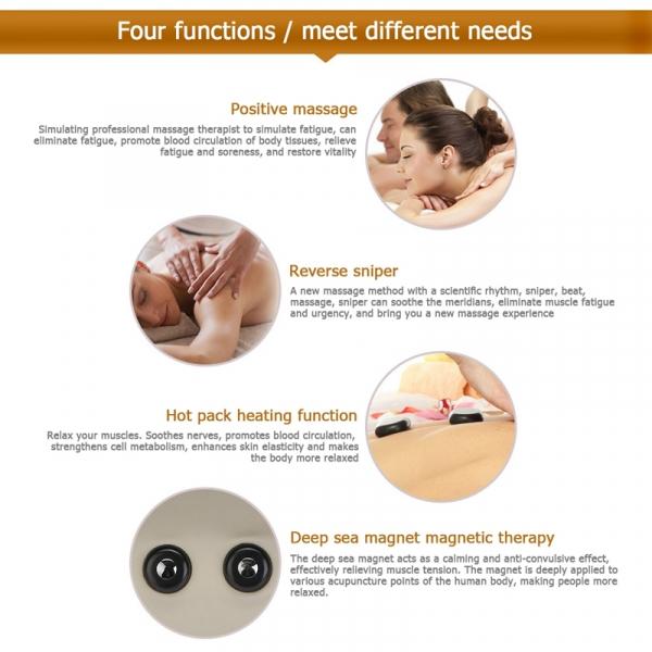 Pernă Multifunctionala pentru masaj Gât si Cervical - Electric 4