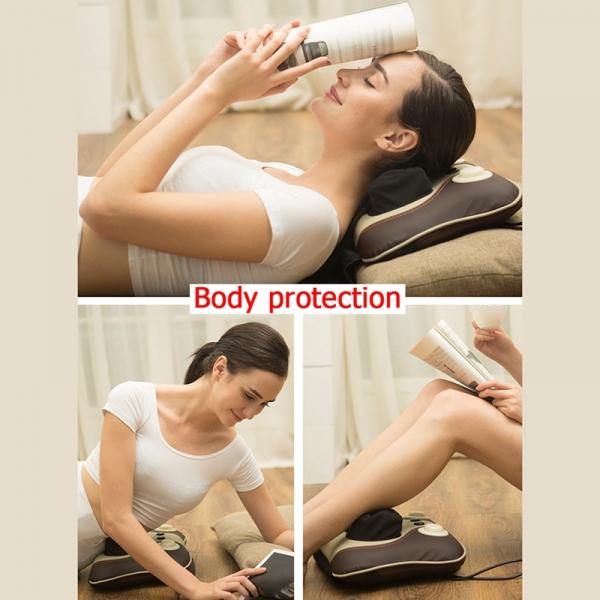 Pernă Multifunctionala pentru masaj Gât si Cervical - Electric 6
