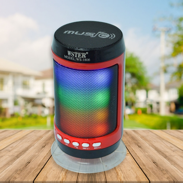 Boxa Bluetooth Portabila - 12 cm - Cu LED 0