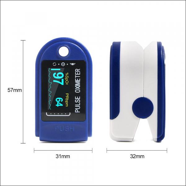 Dispozitiv de Masurat Saturatie Oxigen si Puls pentru Deget - Pulsoximetru / Oximetru 7