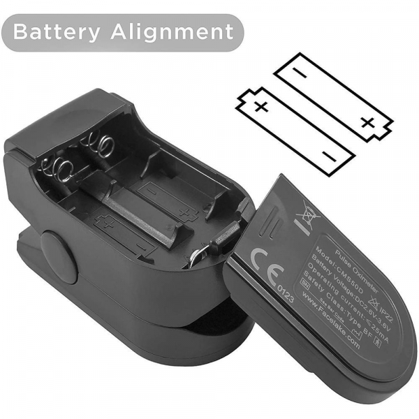 Dispozitiv de Masurat Saturatie Oxigen si Puls pentru Deget - Pulsoximetru / Oximetru 8