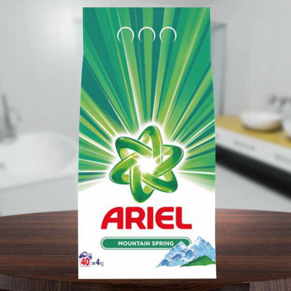 Detergent automat Ariel Mountain Spring, 40 spalari, 4kg 0