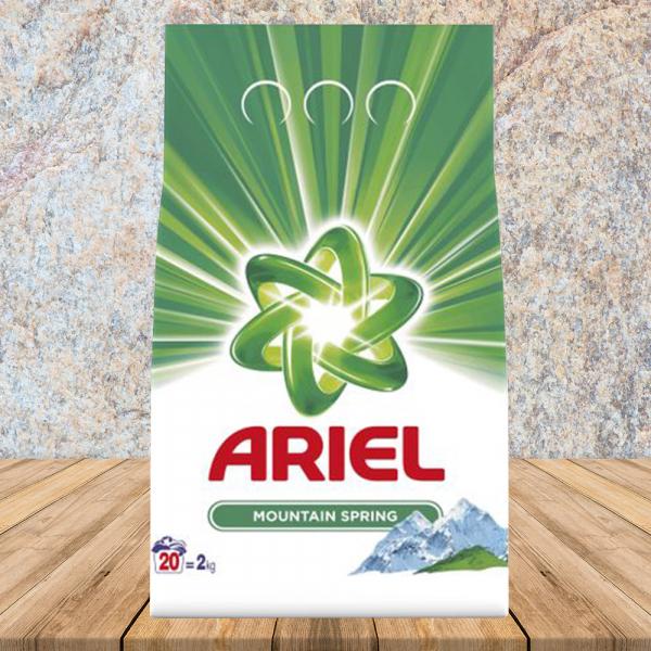 Detergent Mountain Spring 20 spalari 2kg Ariel 0