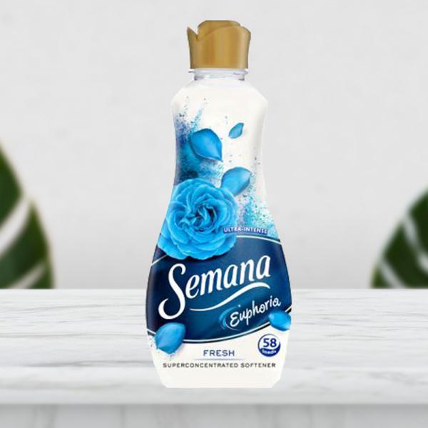 Balsam de rufe SEMANA EUPHORIA FRESH , 58 spalari, 1.45 L 0