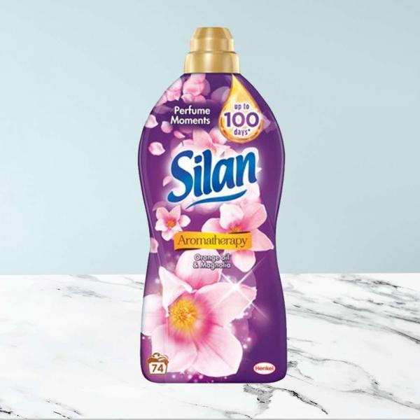 Balsam de rufe Silan Aromatherapy Orange Oil & Magnolia, 1.85 L, 74 spalari 0