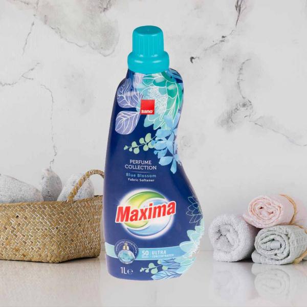 Balsam de rufe ultra concentrat Sano Maxima Perfume Collection Blue Blossom, 50 spalari - 1L 0