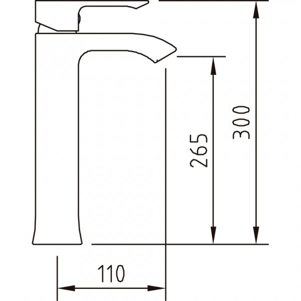 Baterie lavoar AGORA ELEGANCE 265 ec2 1