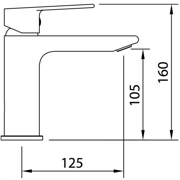 Baterie lavoar AGORA XTREME 105 ec2 1