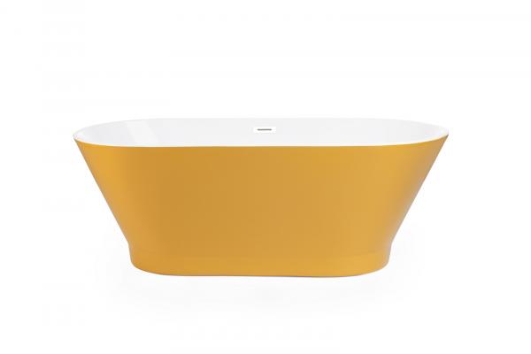 Cada de baie freestanding OSLO 170 cm x 80 cm - Yellow 2
