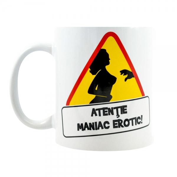 Cana Atentie! Maniac Erotic! 250 ML 10