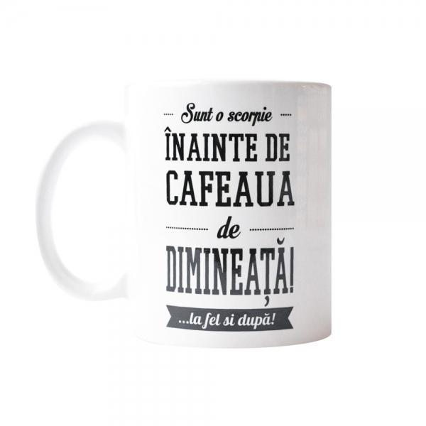 Cana Sunt O Scorpie Inainte De Cafeaua De Dimineata! 250 ML 6
