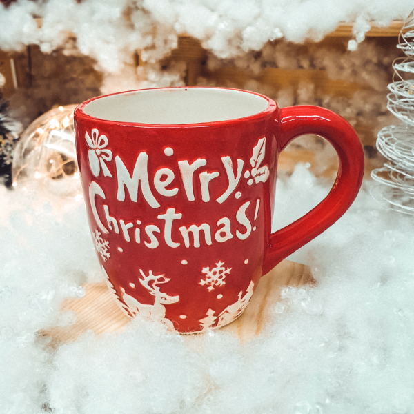 Cana rosie Merry Christmas [0]