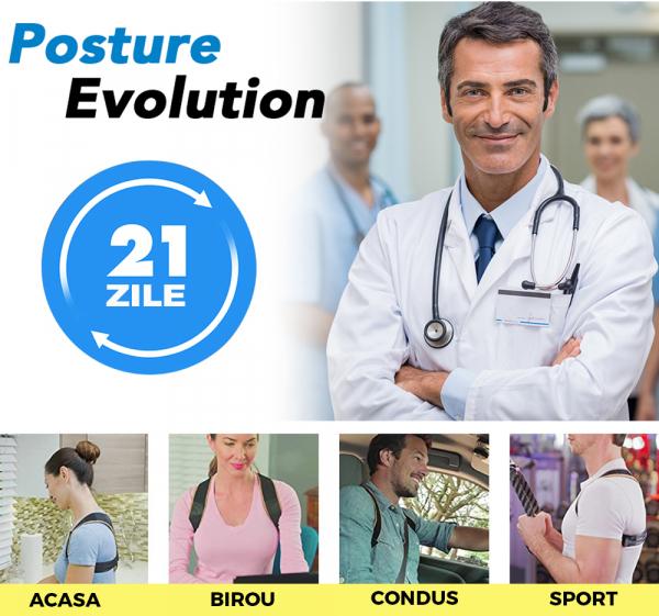 Corector postura spate, Ham Posture Doctor Indreptare coloana, marime Universala 2
