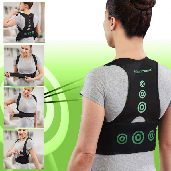 Corector postura spate - Hempvana Arrow Postura - corecteaza poziția spatelui 15
