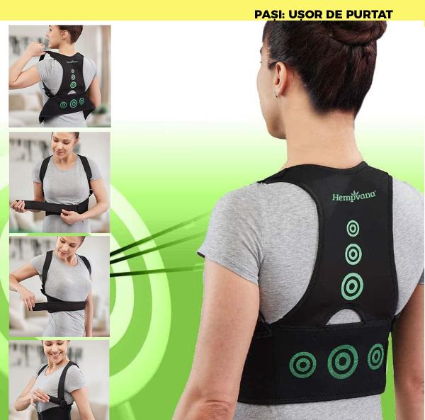 Corector postura spate - Hempvana Arrow Postura - corecteaza poziția spatelui [8]