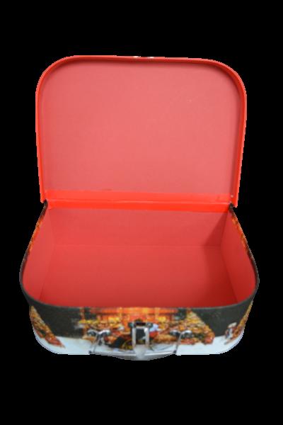 Cutie cu maner si inchizatoare - Design craciun - Model 2 1