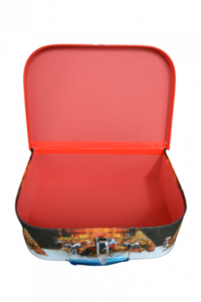 Cutie cu maner si inchizatoare - Design craciun - Model 2 2