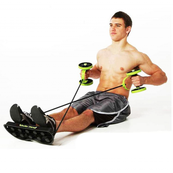 Roată dublă cu role pentru abdomen Fitness Extreme 5