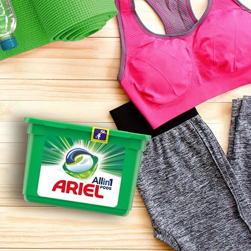 Detergent capsule Ariel All in One Mountain Spring, 15 spalari 0