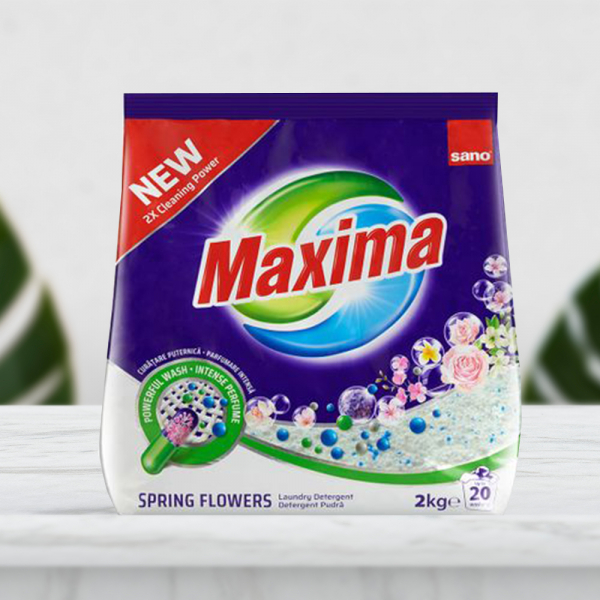 Detergent rufe Sano Maxima Spring Flowers 2 Kg 0