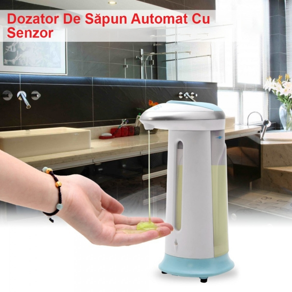 Dozator Automat De Sapun Cu Senzor – Soap Magic 0