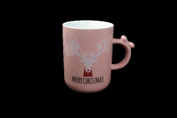 Cana roz Merry Christmas - Design ren 1