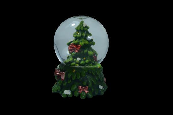 Glob craciun - Design brad 6 CM 1