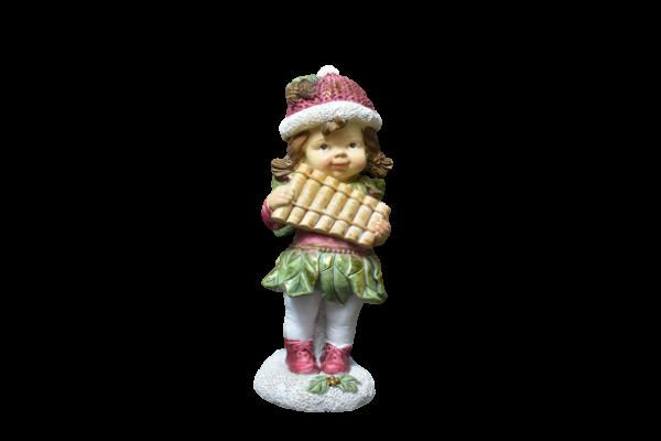 Figurina decorativa pentru Craciun realizata din ceramica – Copil 1