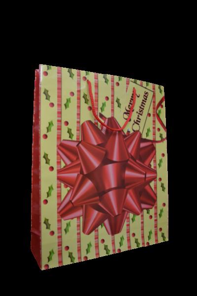 Punga pentru cadouri mare - Design Merry Christmas [0]