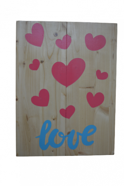 Decor lemn handmade - Model 1 1