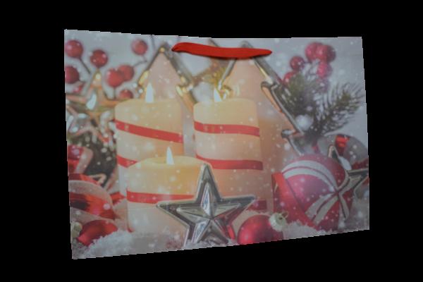 Punga pentru cadouri mare - Design lumanari 1