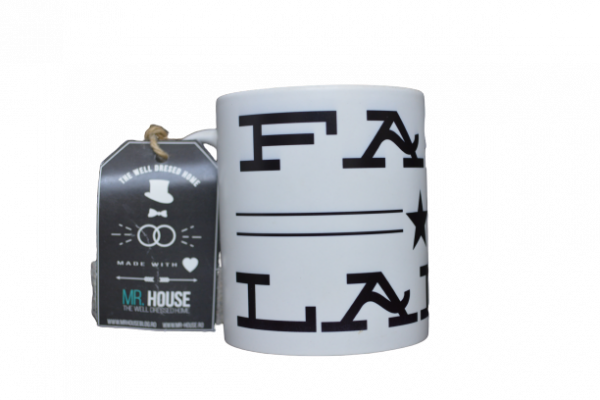Cana cafea/ ceai cu mesajul ,,Fast Lane,, 0