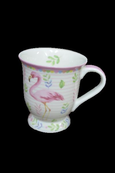 Cana din ceramica - Design flamingo 0
