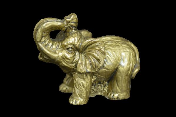 Statueta elefant cu trompa in sus feng shui 1