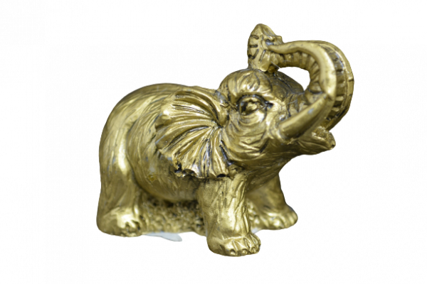 Statueta elefant cu trompa in sus feng shui 0